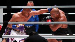 Boxe: Tyson-Jones, le foto