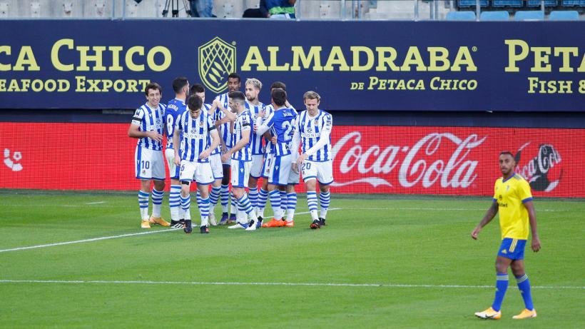Liga: vola la Real Sociedad capolista, Barcellona a -12!