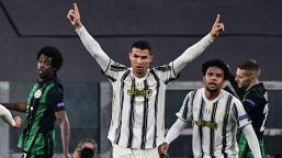 Con una rete di Cristiano Ronaldo e un gol di Morata nei minuti di recupero i bianconeri battono la squadra ungherese e si qualificano per gli ottavi di finale