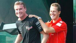 David Coulthard tra Michael Schumacher e W Series