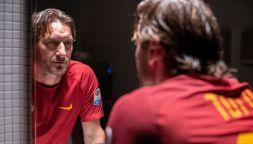 """Mi chiamo Francesco Totti"", le foto dal set"