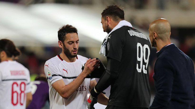 Milan, rinnovi Donnarumma e Calhanoglu: com'è la situazione