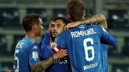 Serie B, Empoli: Positivi nel gruppo squadra