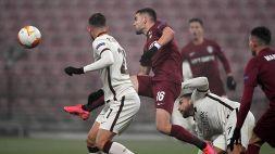 Europa League: Cluj-Roma 0-2, le foto