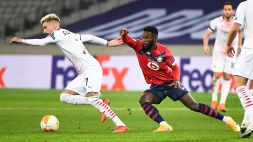 Europa League: Lille-Milan 1-1, le foto