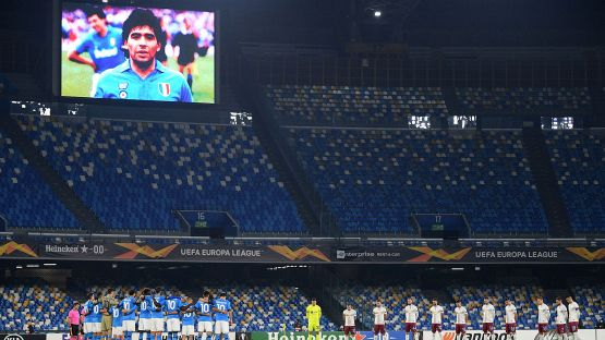 Europa League: Napoli-Rijeka 2-0, le foto