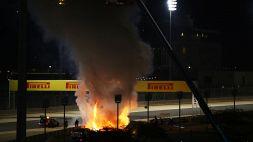 """Incidente Grosjean, Hamilton: """"Wow, ringraziamo la Fia"""""""