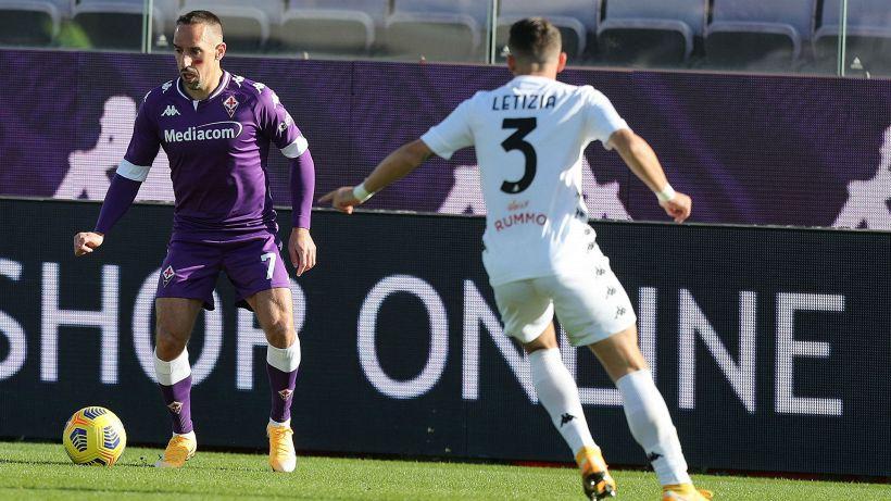 Fiorentina, infortuni per Ribery e Bonaventura