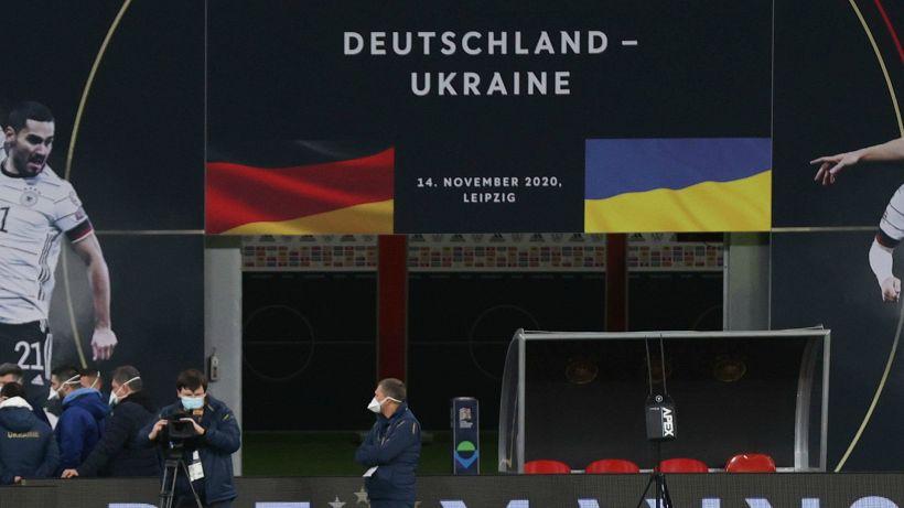 Ucraina, 5 positivi: a rischio la gara con la Germania