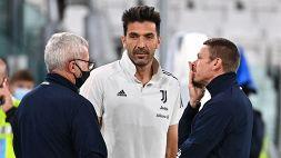 Buffon si ferma: affaticamento