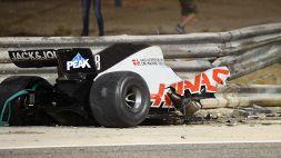 """F1, Grosjean dall'ospedale: """"Senza Halo non sarei qui"""""""