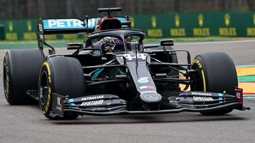 F1, Imola: trionfano Hamilton e la Mercedes. Leclerc quinto
