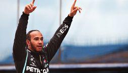 F1, Hamilton campione del mondo: preso Schumacher. Vettel a podio