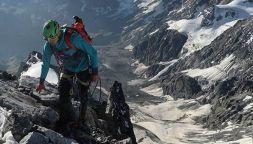 Hannes Hofer, la passione per la montagna: snowboard e climbing