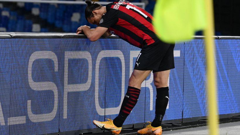 Allarme Milan: Ibrahimovic si infortuna, problema muscolare