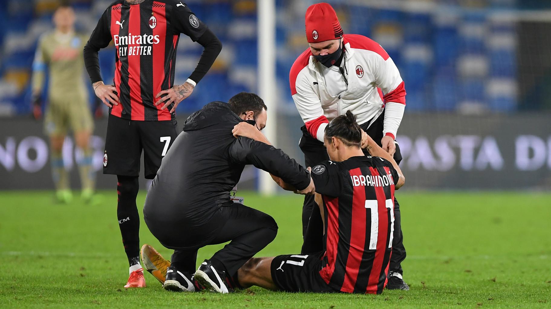 """Infortunio Ibrahimovic, Bonera: """"Di solito non esce dal campo... """" -  Virgilio Sport"""