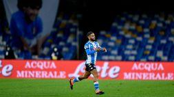 Insigne, gol con dedica a Maradona