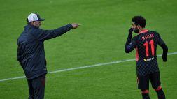 """Jürgen Klopp ironizza: """"Salah? Forse non gli piace il meteo..."""""""