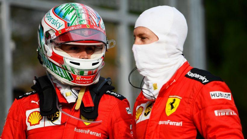 F1, Ferrari: Vettel furente con Leclerc. Binotto si schiera