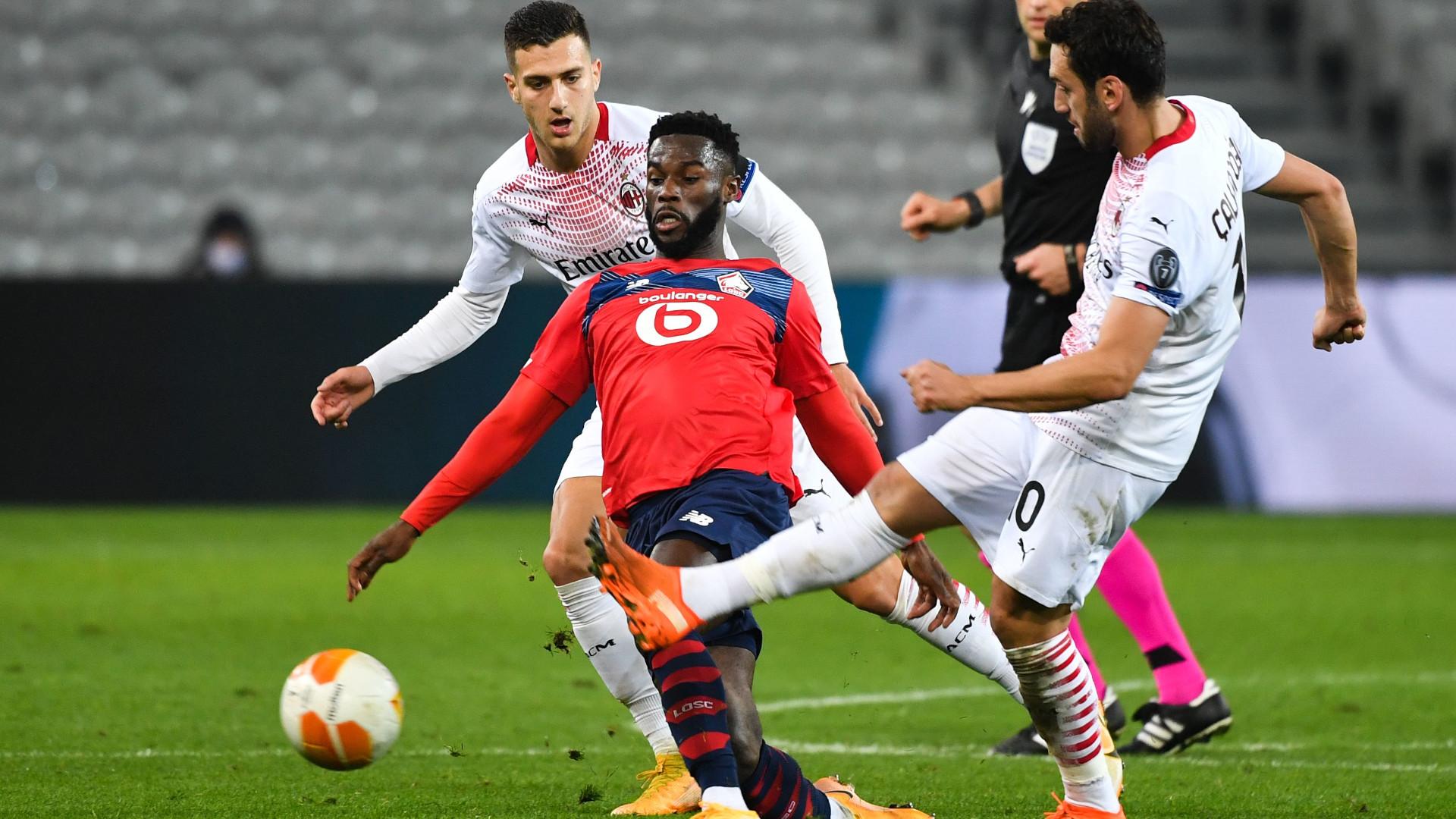 Europa League, il Milan torna con un punto dalla tana del Lille - Virgilio  Sport