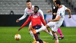 Europa League, il Milan torna con un punto dalla tana del Lille