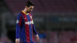 Messi e i nervi tesi a Barcellona: Koeman perde le staffe, Inter attenta