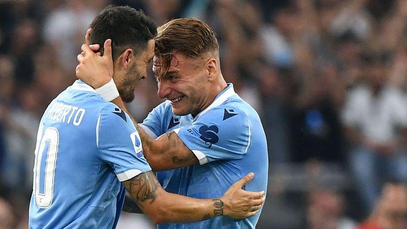 Lazio oltre le polemiche: Immobile e Luis Alberto titolari
