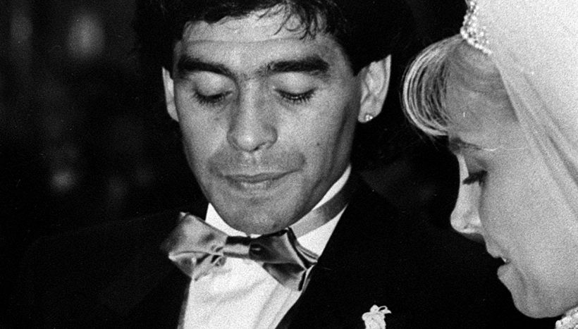 Maradona:le nozze con Claudia, la guerra per Diego jr e i segreti