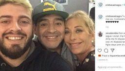 """Maradona, l'ex Cristiana Sinagra: """"Cuore grande, animo fragile"""""""