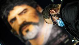 L'omaggio di Napoli al suo re: Diego Armando Maradona
