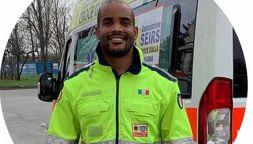 Maxime Mbandà, il rugbista alla guida delle ambulanze anti Covid