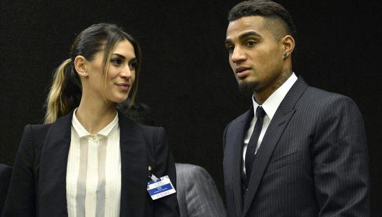 Melissa Satta e Kevin Prince Boateng, nuova crisi sotto l'albero