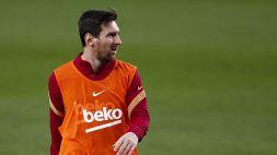 Leo Messi, nuovo avvertimento al Barcellona