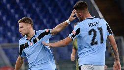 Guai Lazio: Milinkovic-Savic positivo al Coronavirus, giallo Immobile