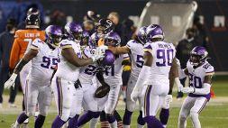 Monday Night NFL: sorriso Vikings