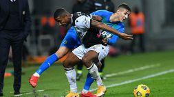 Il Sassuolo sbatte sull'Udinese: 0-0, niente primo posto