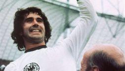 Il lungo e sofferto addio di Gerd Muller, perso nella demenza