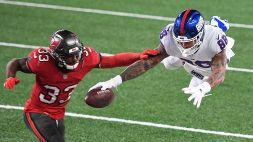NFL: le foto di Tampa Bay Buccaneers-New York Giants 25-23