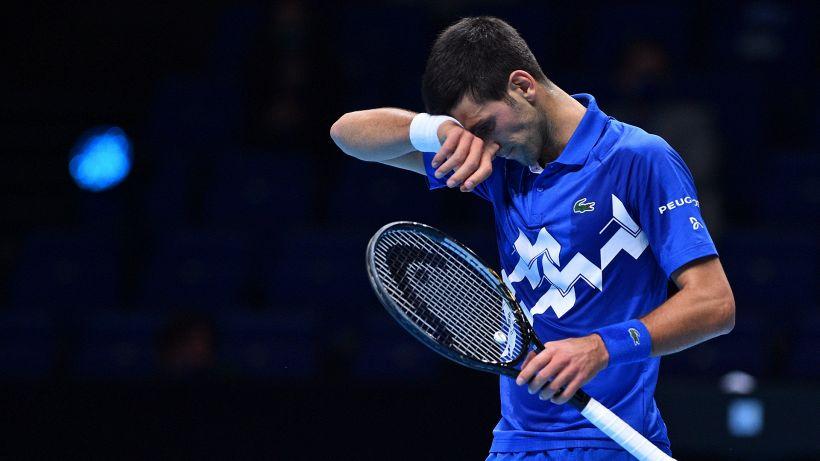 Atp Finals, Djokovic perde e adesso rischia