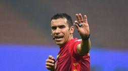 Inter-Parma, l'arbitro Piccinini verso lo stop