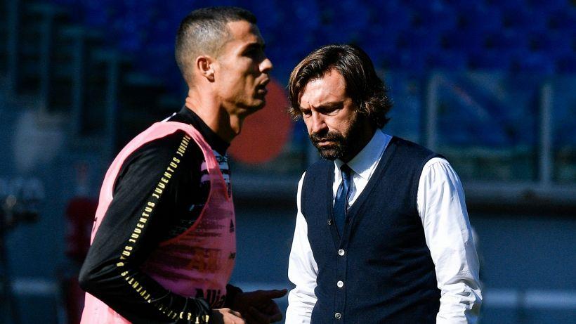 Juve in emergenza: le parole di Pirlo su Cristiano Ronaldo e Dybala