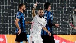 Champions: il Real beffa l'Inter, Atalanta umiliata dal Liverpool