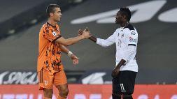 Spezia-Juve: Gyasi e il retroscena su Ronaldo