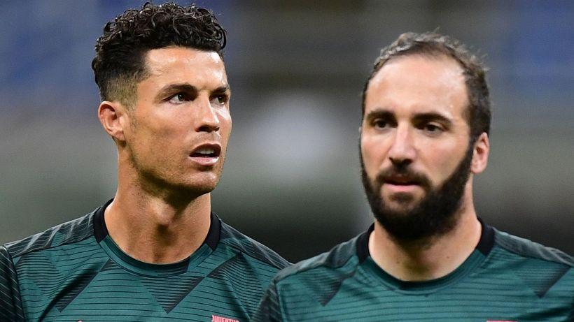 Higuain, frecciate a Cristiano Ronaldo e alla Juventus