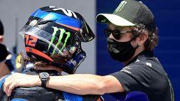"""MotoGp, Rossi: """"Felice per Bezzecchi"""""""
