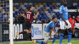 Serie A: le foto di Napoli-Milan 1-3