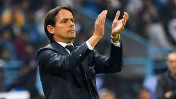 """Inzaghi: """"Penso che Immobile, Leiva e Strakosha ci saranno"""""""