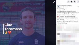 Volley: il ricordo di Tommaso Sintini sui social