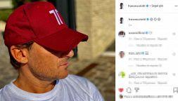 Covid: Francesco Totti rompe il silenzio, a modo suo