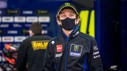 Valentino Rossi, l'emozione di Gerloff